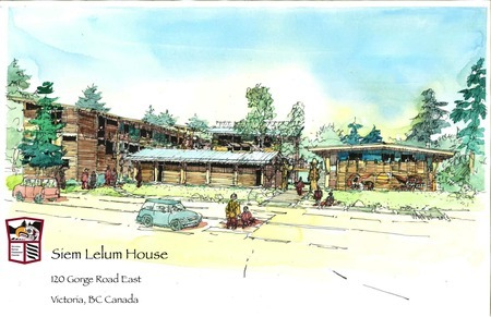 Siem Lelum House - Water Colour